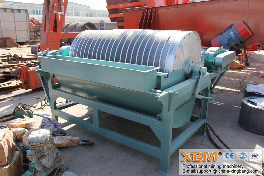 The Wet Magnetic Separator can separate raw materials with different magnetic rigidities. The machine works under the magnetic force and machine force. Magnetic Separators are designed to recover ferromagnetic materials.